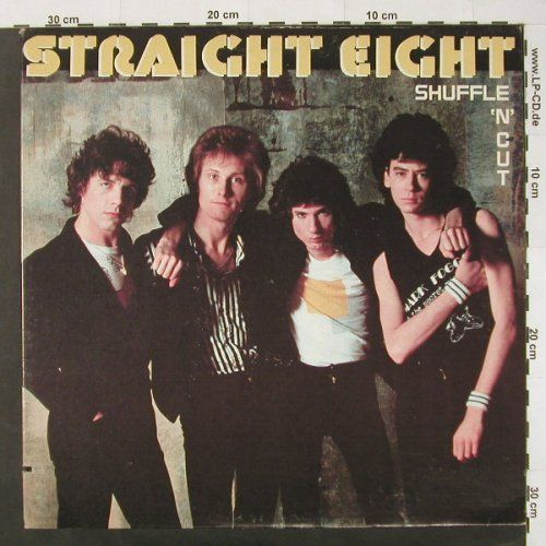 Streight Eight: Shuffle'n'cut, co, RCA(AFLI-3979), US, 80 - LP - C2035 - 6,50 Euro