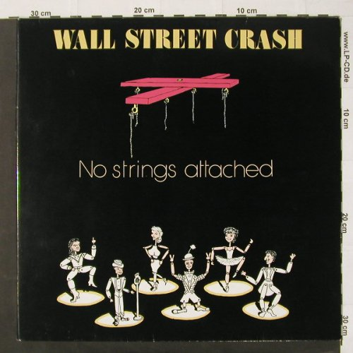 Wall Street Crash: No Strings Attached, Foc, Merc.(836 279-1), NL, 88 - LP - C2138 - 4,00 Euro