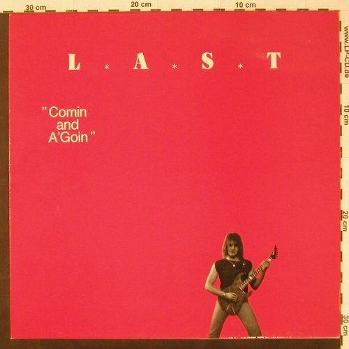 Last,Roy: Comin And A'Goin, PAX JAX(JP 105-1), D, 89 - LP - C2274 - 6,00 Euro