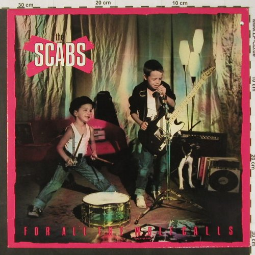 Scabs: For All The Wolfcalls,Co, EMI(1A 064 1191891), EEC,  - LP - C2304 - 3,00 Euro