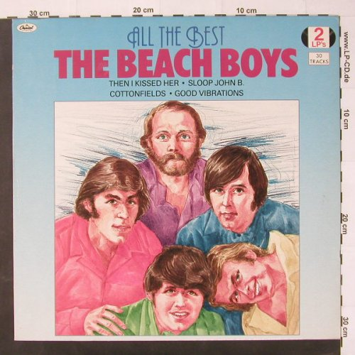 Beach Boys: All The Best, Capitol(1816753), NL, 1984 - 2LP - C2346 - 6,00 Euro