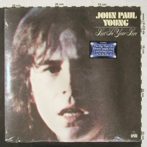 Young,John Paul: Lost In Your Love, FS-New /vg+, Ariola(26 481 XOT), D, co, 78 - LP - C2378 - 4,00 Euro