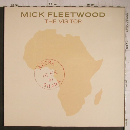 Fleetwood,Mick: The Visitor, Foc, RCA(PL 14080), D, 1981 - LP - C2425 - 5,50 Euro