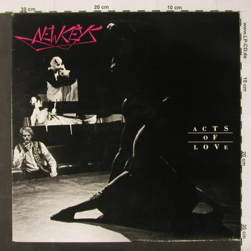 "New Keys: Acts Of Love, + 7"",Info..., Ruby(NK 0100), , 86 - LP - C2477 - 6,50 Euro"