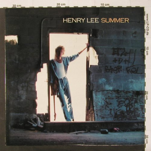 Summer,Henry Lee: Same, CBS(BFZ 40895), US, 88 - LP - C2485 - 5,00 Euro