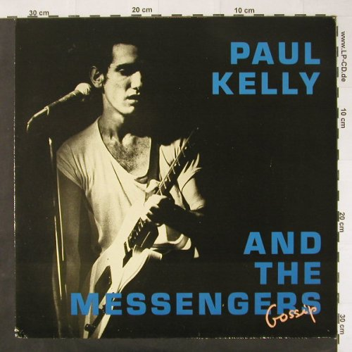 Kelly,Paul & The Messengers: Gossip, +Facts, AM(395 157-1), D, 87 - LP - C2530 - 5,00 Euro