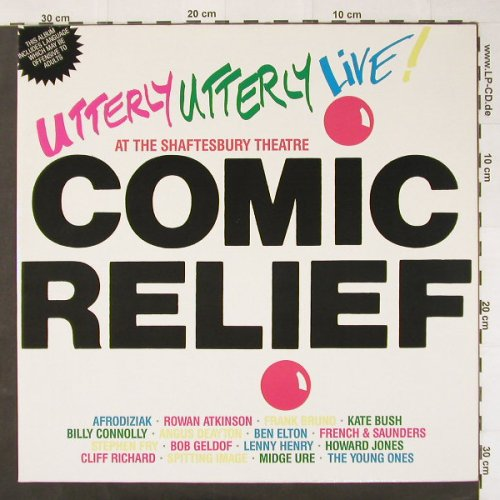 V.A.Comic Relief pres.: Uttery Utterly Live!, Foc, WEA(240 932-1), D, 86 - 2LP - C2544 - 6,00 Euro