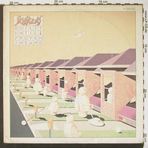 Skyhooks: Guilty Until Proven Insane, m-/vg+, UA(064-82 623), D, 79 - LP - C2915 - 5,00 Euro