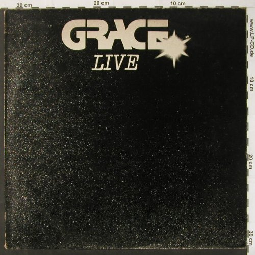Grace: Live, m-/vg+, CLAY(LP2), UK, 81 - LP - C2916 - 7,50 Euro