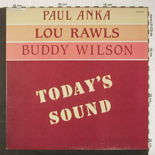 V.A.Today's Sound: Anka,Paul, Lou Rawls, Buddy Wilson, OutOfTown(OTD 8415), , 1983 - LP - C2994 - 5,50 Euro