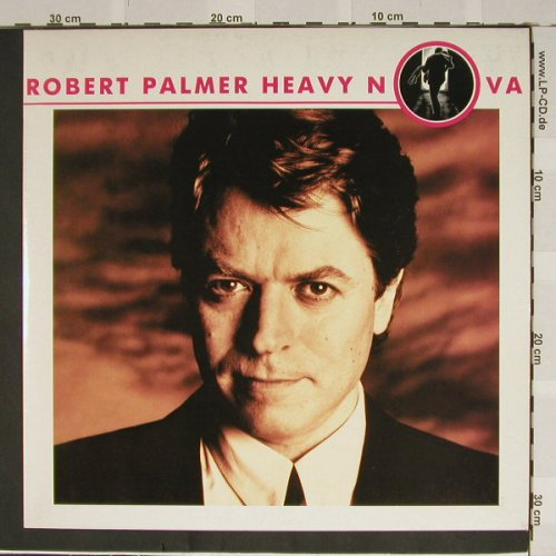 Palmer,Robert: Heavy In Nova, EMI(7 48057 1), EEC, 88 - LP - C3131 - 5,50 Euro