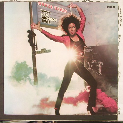 Slick,Grace: Welcome To The Wretching Ball!, RCA(PL 13851), D, 81 - LP - C3447 - 9,00 Euro