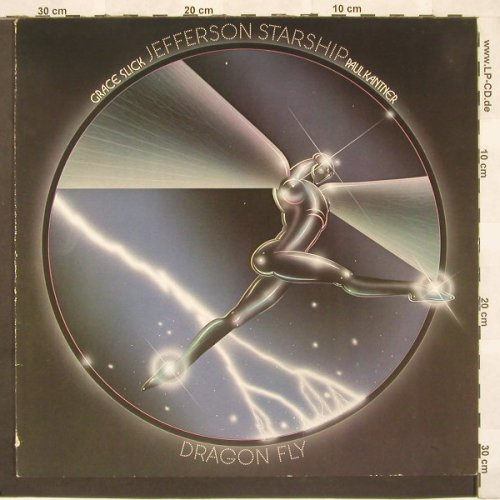 Jefferson Starship/G.Slick & P.Kant: Dragon Fly,Ri, Grunt(NL 83796), D, 1974 - LP - C3464 - 7,50 Euro