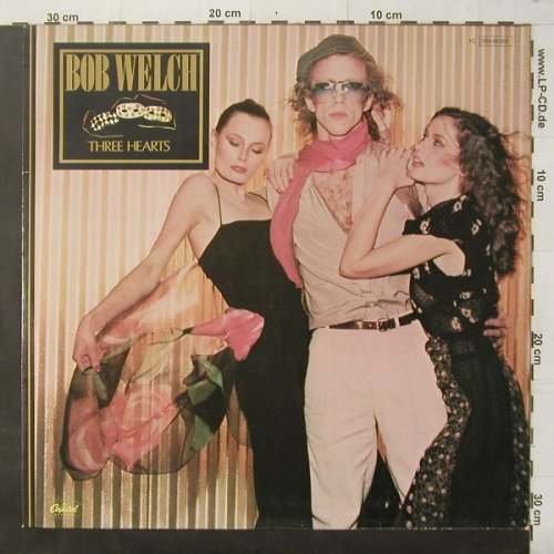 Welch,Bob: Three Hearts, Capitol(064- 85 807), D, 1979 - LP - C3603 - 5,00 Euro