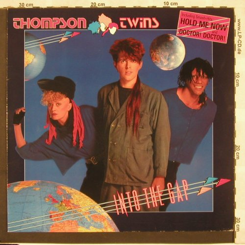 Thompson Twins: Into The Gap, Arista(205 971-620), D, 1984 - LP - C3714 - 5,00 Euro