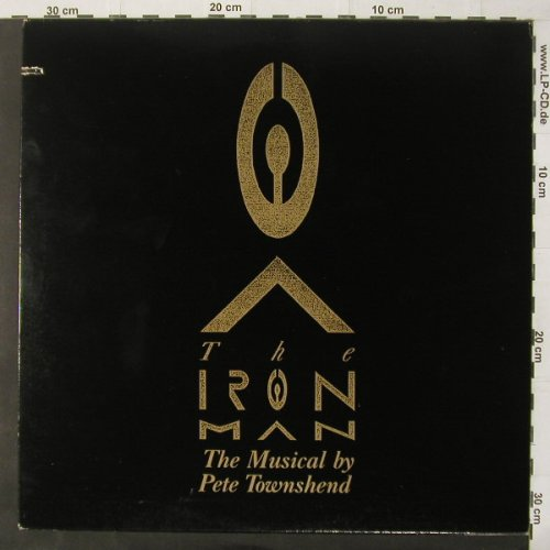 Townshend,Pete: The Iron Man Musical, co, Atlantic(81996), US, 1989 - LP - C4058 - 5,50 Euro