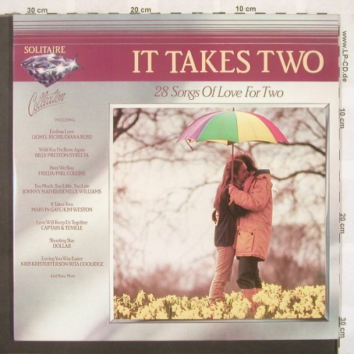 V.A.It Takes Two: 28 Tr., Foc, Starblend(STS 7), UK, 1983 - 2LP - C4328 - 5,00 Euro