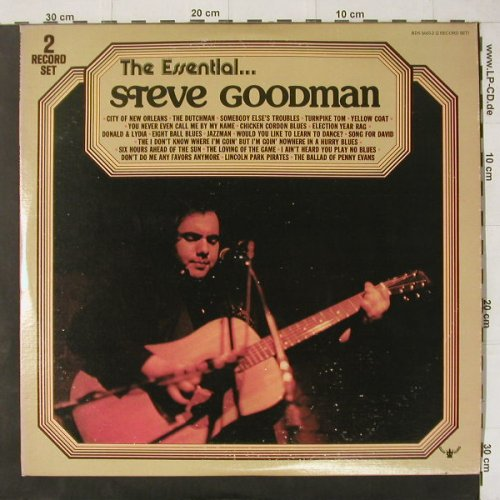 Goodman,Steve: The Essentials, Foc,Co, Buddah(BDS 5665-2), US, 1972 - 2LP - C4429 - 7,50 Euro