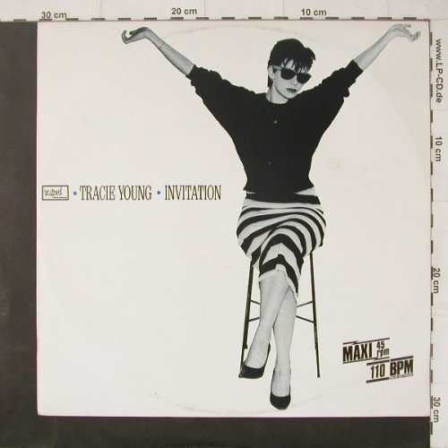 Young,Tracie: Invitation*2+1, Respond(6.20579 AE), D, 1986 - 12inch - C4479 - 1,00 Euro