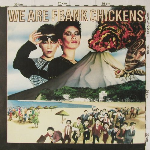 Frank Chickens: We Are Frank Chickens,+Facts, Oasis(6.26260 AP), D, 1985 - LP - C4621 - 7,50 Euro