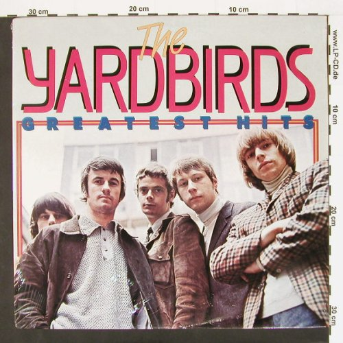 Yardbirds: Greatest Hits, FS-New/vg+, Fun(9008), NL,  - LP - C474 - 5,00 Euro