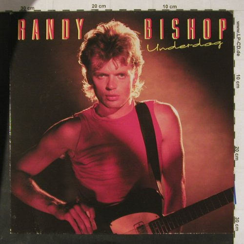Bishop,Randy: Underdog, +Facts, Teldec(6.26279 AP), D, 1986 - LP - C4758 - 5,50 Euro