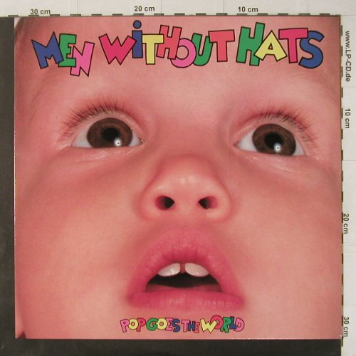 Men Without Hats: Pop Goes The World, Mercury(832 730-1), NL, 1987 - LP - C4830 - 5,00 Euro