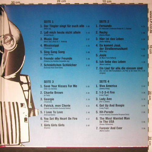 V.A.Hit Express: 28 Top Hits, Foc(Maffay,Humphries.), Telefunken(6.28380 DP), D, 1976 - 2LP - C4930 - 5,00 Euro