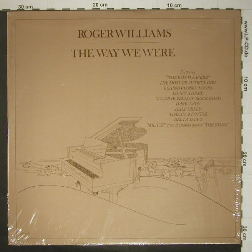 Williams,Roger: The Way We Were, MCA(MCA-403), US, 74 - LP - C5532 - 12,50 Euro