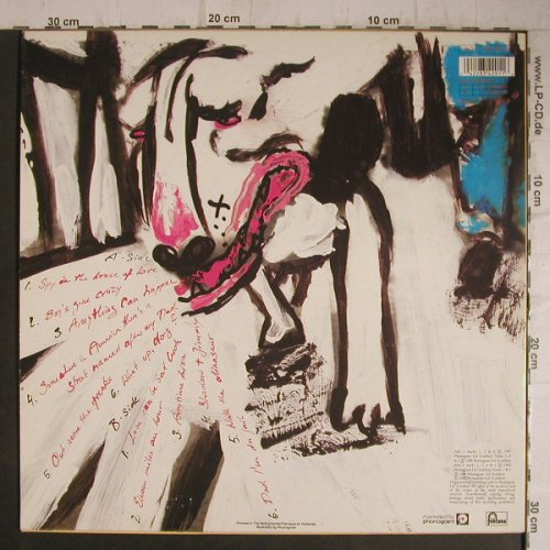 Was(Not Was): What Up,Dog?, Fontana(834 291-1), NL, 1988 - LP - C5594 - 5,50 Euro