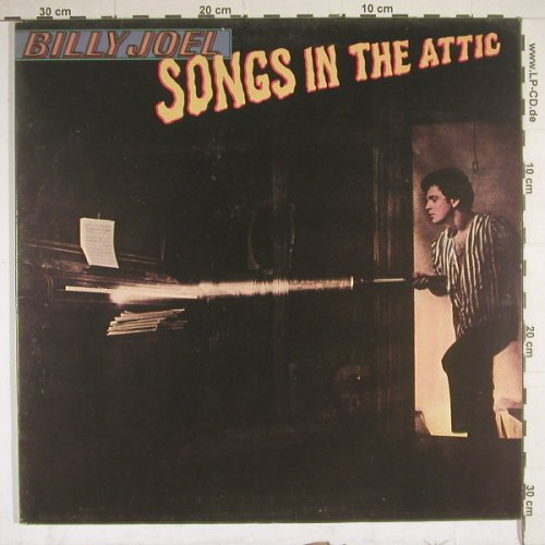Joel,Billy: Songs In The Attic,Foc, CBS(85273), NL, 1981 - LP - C5598 - 5,00 Euro