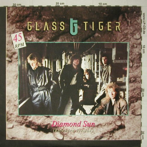 Glass Tiger: Diamond Sun+2, EMI(20 2541 6), D, 1988 - 12inch - C6080 - 2,50 Euro