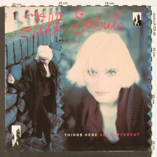 Sobule,Jill: Things Are Different, MCA(2292-57195-1), EEC, 90 - LP - C627 - 4,00 Euro