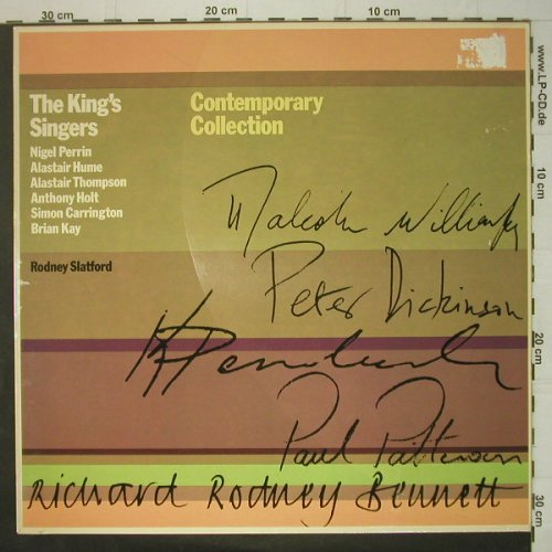 King's Singers: Contemporary Collection'75 ,m-/vg+, Aves(INT 161.513), D, Ri,  - LP - C6538 - 5,00 Euro