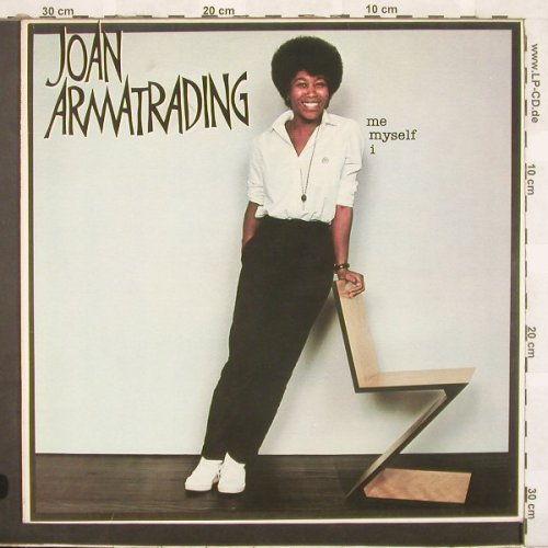 Armatrading,Joan: Me Myself I, AM(LH 64809), NL, 1980 - LP - C654 - 5,50 Euro