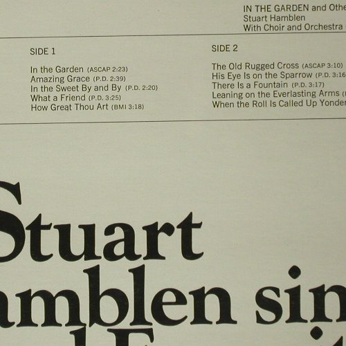 Hamblen,Stewart: In the Garden, FS-New, Camden(CAS-973(e)), US,  - LP - C6590 - 12,50 Euro