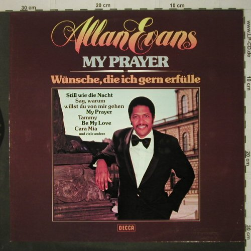 Evans,Allen: My Prayer, Decca(6.22591), D, 1976 - LP - C6639 - 6,00 Euro