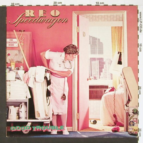 Reo Speedwagon: Good Trouble, Epic(EPC 85 789), NL, 82 - LP - C694 - 5,00 Euro
