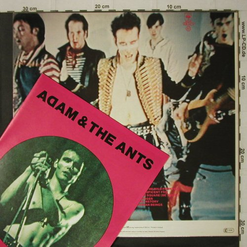 Adam And The Ants: Kings Of The Wild Frontie+Catalogue, CBS(84549), NL, 1980 - LP - C7499 - 6,00 Euro
