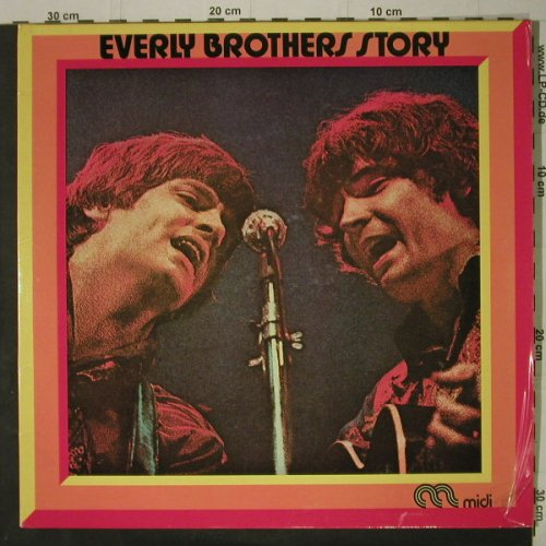Everly Brothers: Everly Brother Story,Foc, Midi(66 010), D,  - 2LP - C7512 - 6,00 Euro