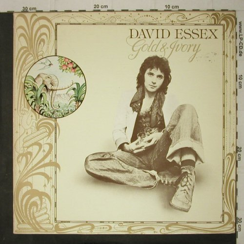 Essex,David: Gold & Ivory, CBS(86038), NL, 1977 - LP - C7515 - 5,00 Euro