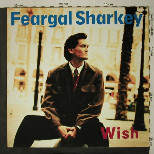 Feargal Sharkey: Wish, Virgin(208 857-630), D, 1988 - LP - C7522 - 3,00 Euro