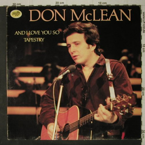 Mc Lean,Don: Tapestry '72, Ri, MFP(), NL, 1980 - LP - C7524 - 4,00 Euro