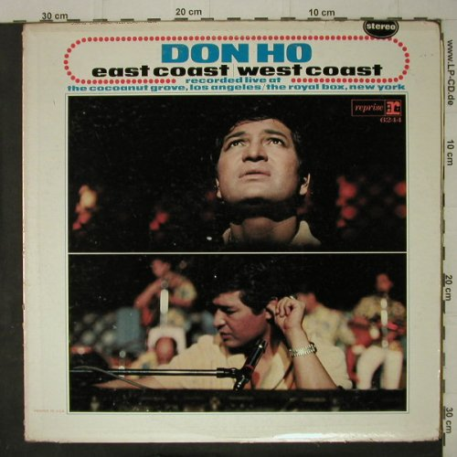 Don Ho: East Coast, West Coast-Live, m-/vg+, Reprise(R-6244), US, Mono,  - LP - C7537 - 6,00 Euro