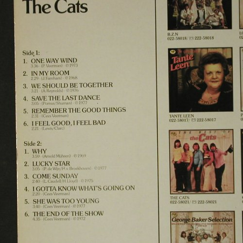 Cats: The Best Of, MFP(1A022-58021), NL,  - LP - C7561 - 4,00 Euro