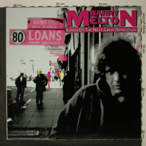 Melton,Barry: Songs Of The Next Great Depression, Line(RBLP 4.00297 J), D, whVinyl, 1984 - LP - C7577 - 3,00 Euro