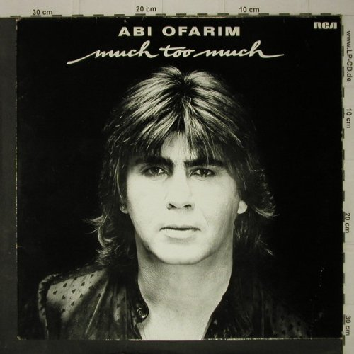 Ofarim,Abi: Much Too Much, RCA(PL 28 485), D, 1982 - LP - C7588 - 5,00 Euro