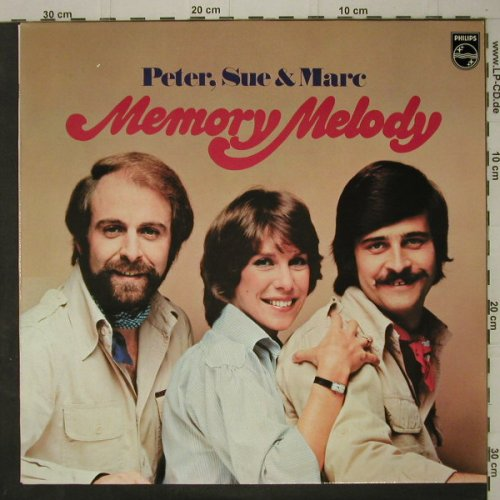 Peter,Sue & Marc: Memory Melody, Philips(6305 378), D, 1978 - LP - C7595 - 4,00 Euro