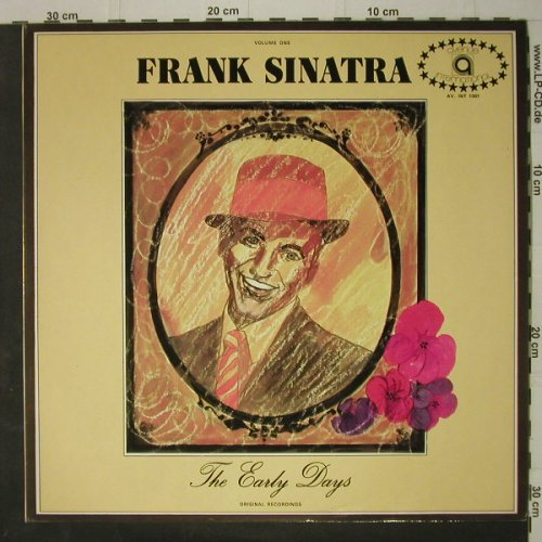 Sinatra,Frank: The Early Days -Vol.1, Avenue International(AV. INT 1001), UK, 1973 - LP - C7629 - 7,50 Euro
