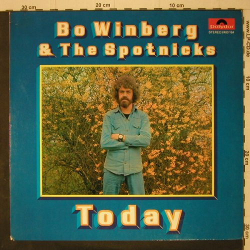 Winberg,Bo & the Spotnicks: Today, Polydor(2480 164), D, 1973 - LP - C7634 - 7,50 Euro